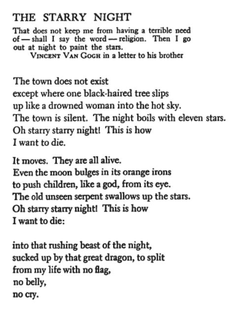Ekphrastic Poetry: When Art Kindles Literature   Notes of Oak